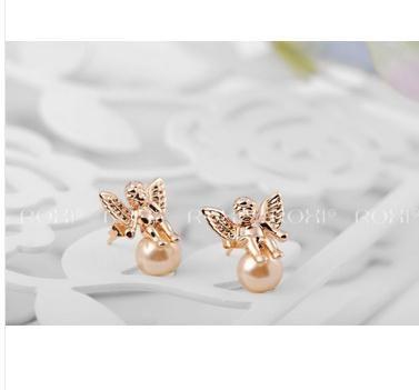Сережки ROXI, у формі Позолочених Метеликів